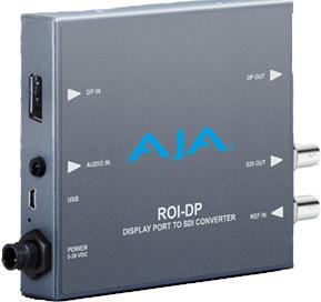 AJA ROI-DP Display Port to SDI Converter