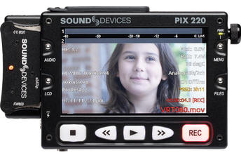 Sound Devices PIX 220 Video Recorder