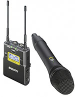 Offer Sony UWP-D12  Wireless microphone package with handheld transmitter