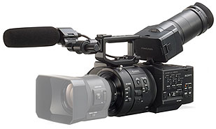 Offer Sony NEX-FS700R NXCAM Camcorder with 4K/2K RAW Recording